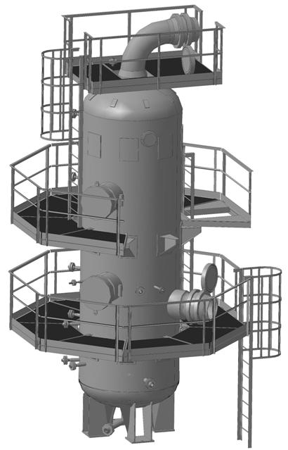 Assembly of filter-separator FS-1
