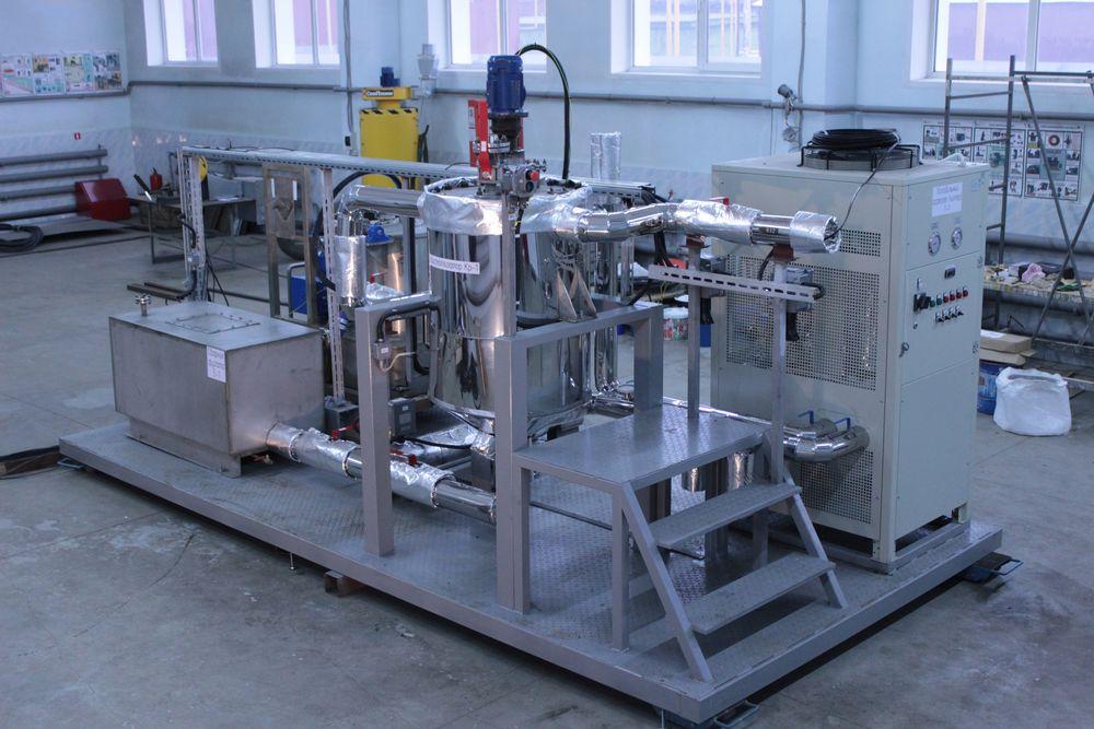 Pilot unit for terpeniol production