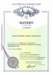 Patent 2510728 - Filtering element (variants)